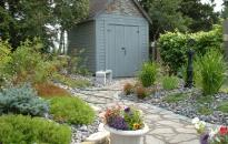 Landscaping of a Garden Shed