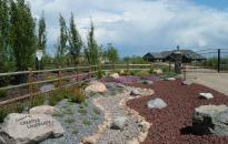 Entrance Way - Dry Creek Bed